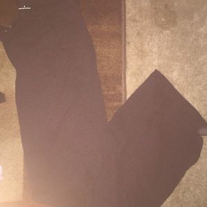 Black boot cut old navy pants